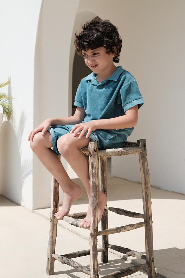 Polo LEONARD (Baby blue)